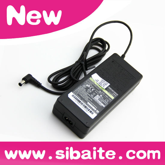 Brand new 120W power adapter laptop 19.5V 6.2A for sony VGP-AC19V16 6.5*4.4mm