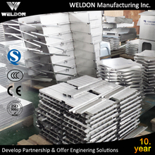 WELDON china supplier custom services of aluminium structure stainless steel sheet metal fabrication