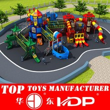 Wholesale Proper Price CE Certificated Outdoor Play Centre,kids new design slide