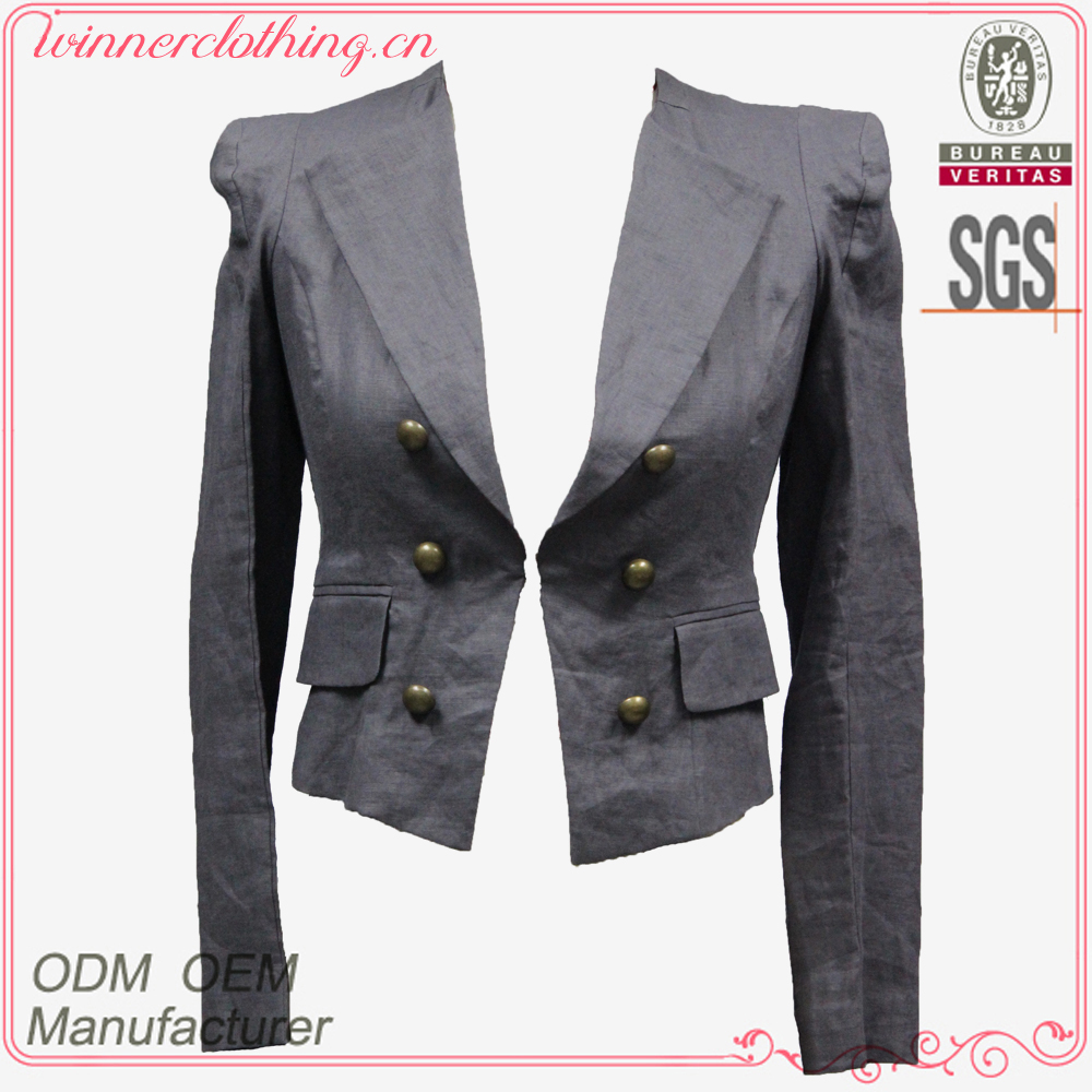 High fashion neck designs for ladies suit