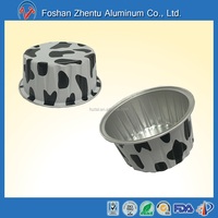 NEW FASHION color coated food grade Oven Safe heat sealing disposable Package Aluminum Foil Container/cups