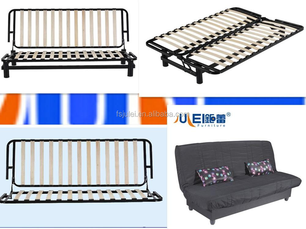 popular fabric cover folding living room sofas cum bed JL-SD05
