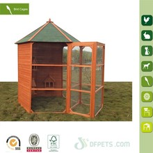 Cheap Outdoor Wooden Large New Bird Cage with run