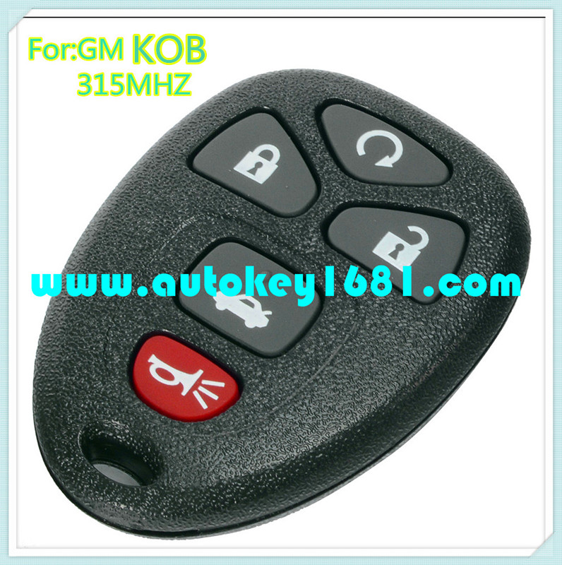 MS KOBGT04A car key 5 button remote control 315mhz for gm buick cadillac chevrolet