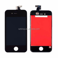 Grade A quality LCD Display Digitizer With Touch Screen Panel And Frame Full Set Assembly Replacement For iPhone 4 iPhone 4S
