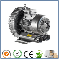 0.95Kw 3 phase 2 stage high pressure air blower