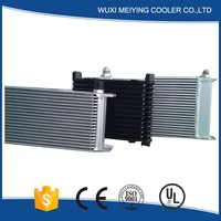 New design hydraulic oil cooler 12v 24v motor made in China