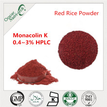 Natural monacolin k red yeast powder for red yeast coffee
