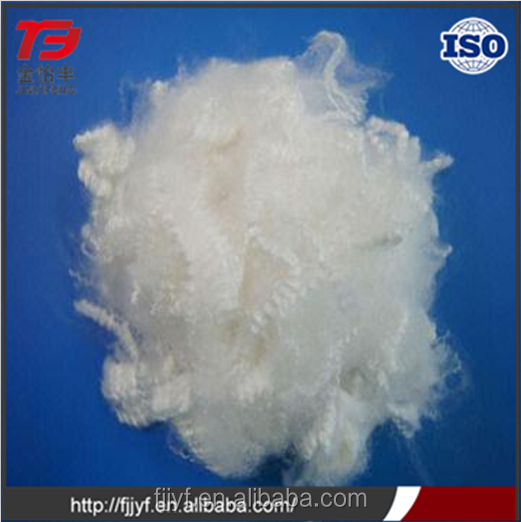 High standard 15D polyester material spinning yarn use polyester short staple fiber for wholesales