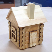Hot sale floor miniatures wooden toy doll furniture house