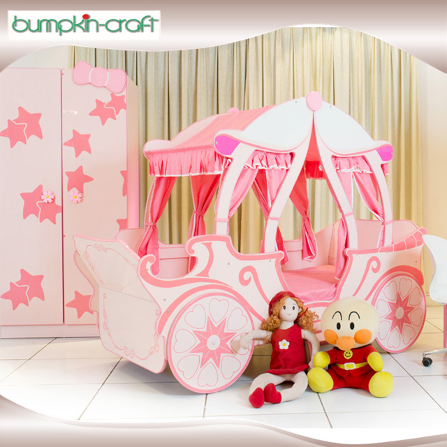 For the quality and health kids sized royal princess carriage car bed