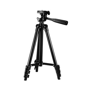 Hot selling 106cm lightweight tripod flexible tripod for universal smart phone