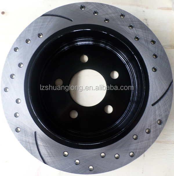 Popular high quality modified car brake disc rotor