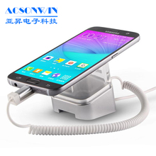 Mobile phone anti-theft security display holder/stand for retail
