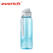 Everich Hot Sale New Products Private Label Hard Sided Water Bottle with 1 Filter, BPA Free, Black