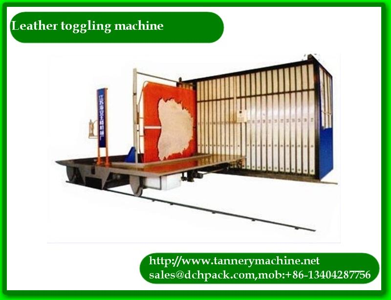 manual leather tanning toggling equipment for sheep skin