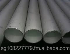 "stainless steel pipe ASTM A312 sch 40, dia 6"", dia 8"""
