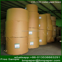 Super Quality Pe Coated Paper Customizable Adhesive Mirror Coated Paper