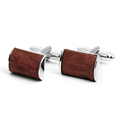 Wholesale Classical Custom Wooden Cufflinks for Mens Shirts