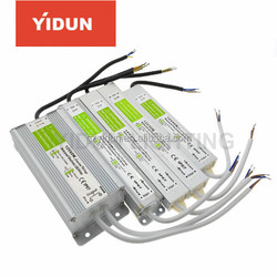 YIDUN Lighting IP67 Waterproof LED Driver DC12V Lighting Transformers for Outdoor Lights Power Supply 10W 20W 30W 45W 60W 100W