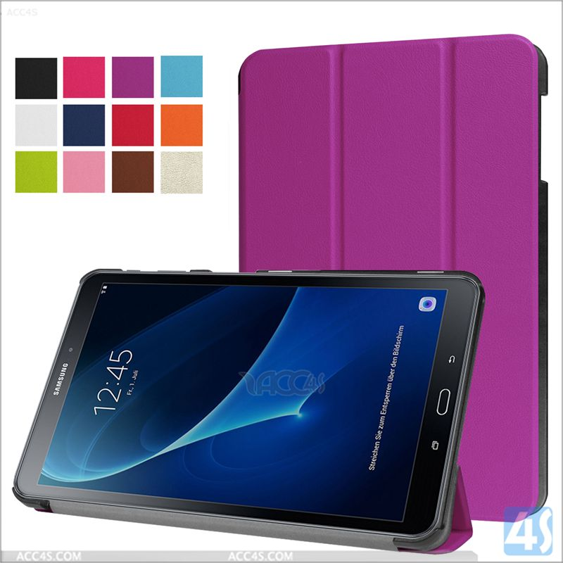 For SAMSUNG Galaxy Tab A 10.1 T580 case smart cover tri fold stand