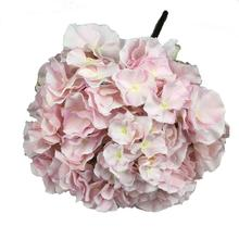 28CM Diameter Giant flower head Silk Hydrangea wedding Flower for Flower wall