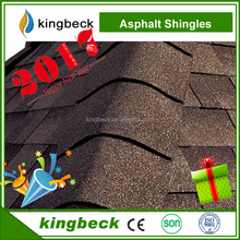 Kingbeck fiberglass asphalt shingles colorful stone chip roof tile asphalt tile