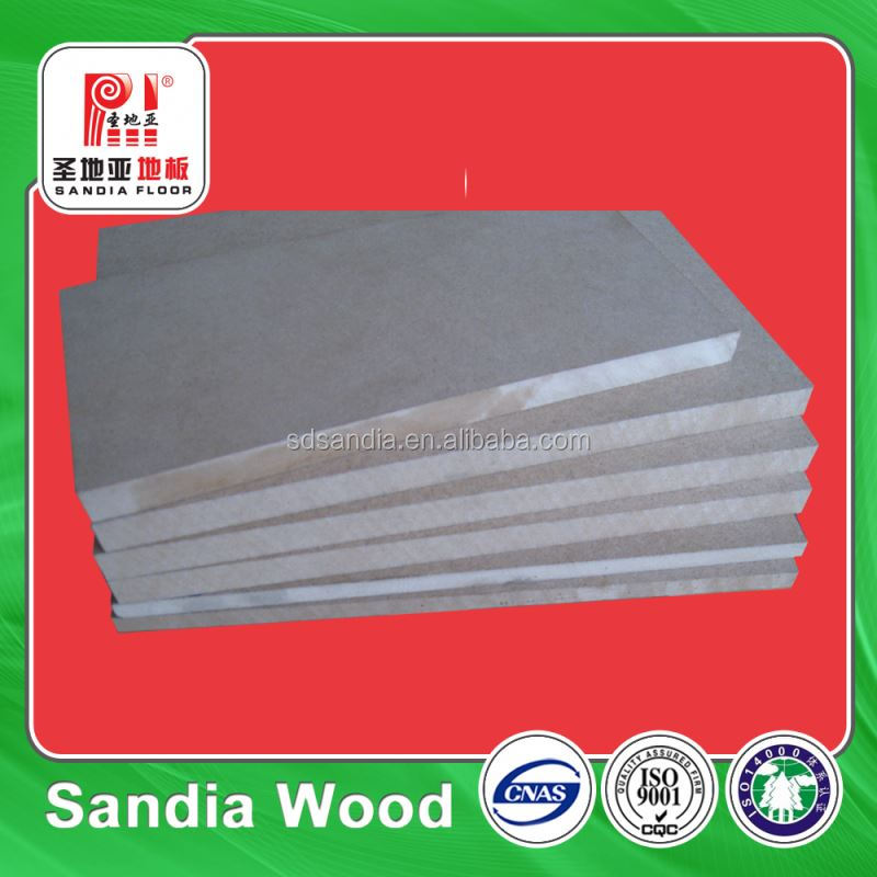 First-Class Wood Fiber Standard Size Raw MDF Board