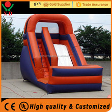 Commercial banzai inflatable water slide , used inflatable water slide for sale