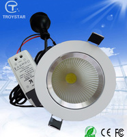 Cheapest 7W COB led Downlight dimmable LED ceiling down lights