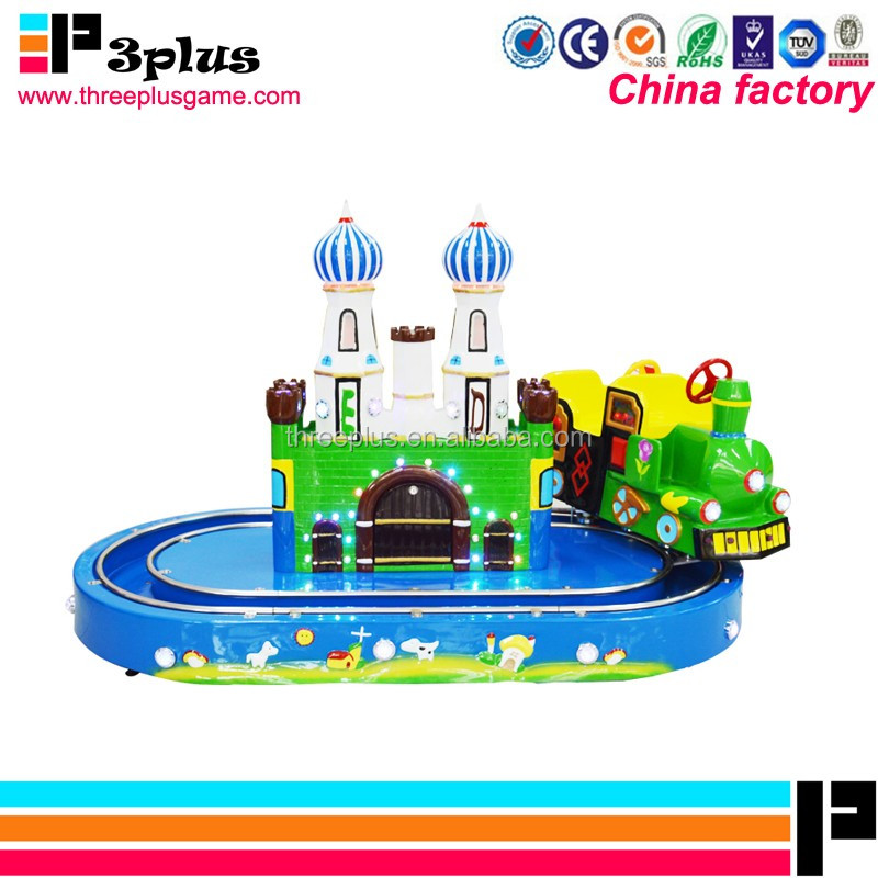 Shopping mall amusement park coin operated kids ride on toy train for sale