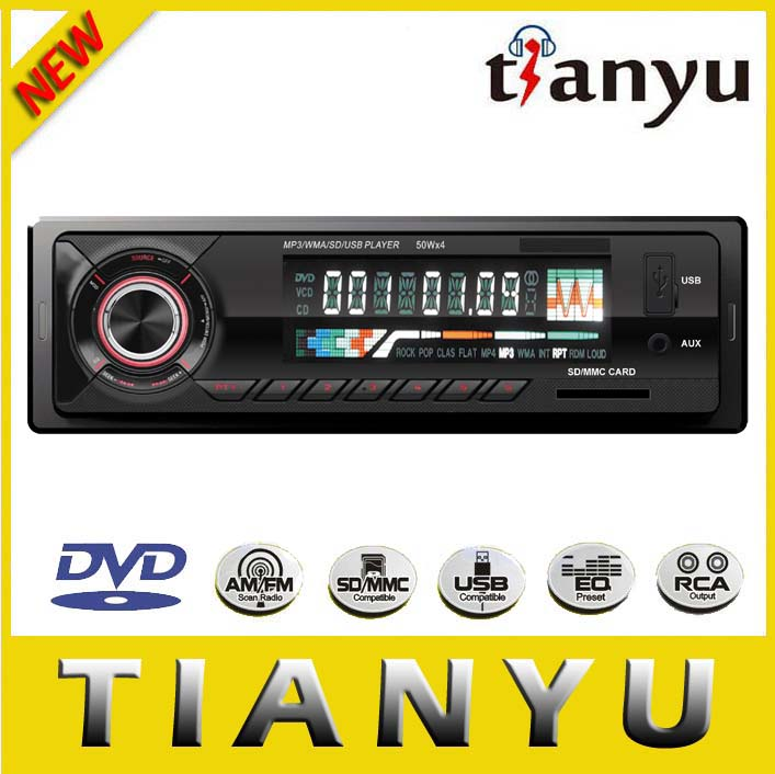 Competitive Price/ RCA audio out/ Clock funtion/ Digital LCD display/ car stereo mp3 usb sd