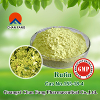 GMP Manufacturer supply Natural sophora japonica extract powder Rutin 95%/98% (yellow powder)