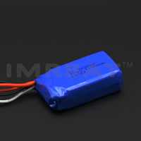 923048 7.4v 1100mah plug-in JST lipo battery for rc helicopter and rc car
