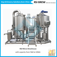 1000L Beer Brewing Equipment For Micro