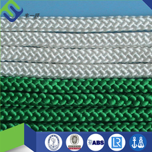 Double braided colored nylon boat/vessel mooring rope