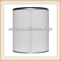 99.99% Fillter efficiency cylindrical hooded hepa filter