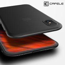 Cafele Newest Soft TPU Phone Shell Cover Case for iPhone X Cases Ultrathin High Quality TPU Case for iPhone X