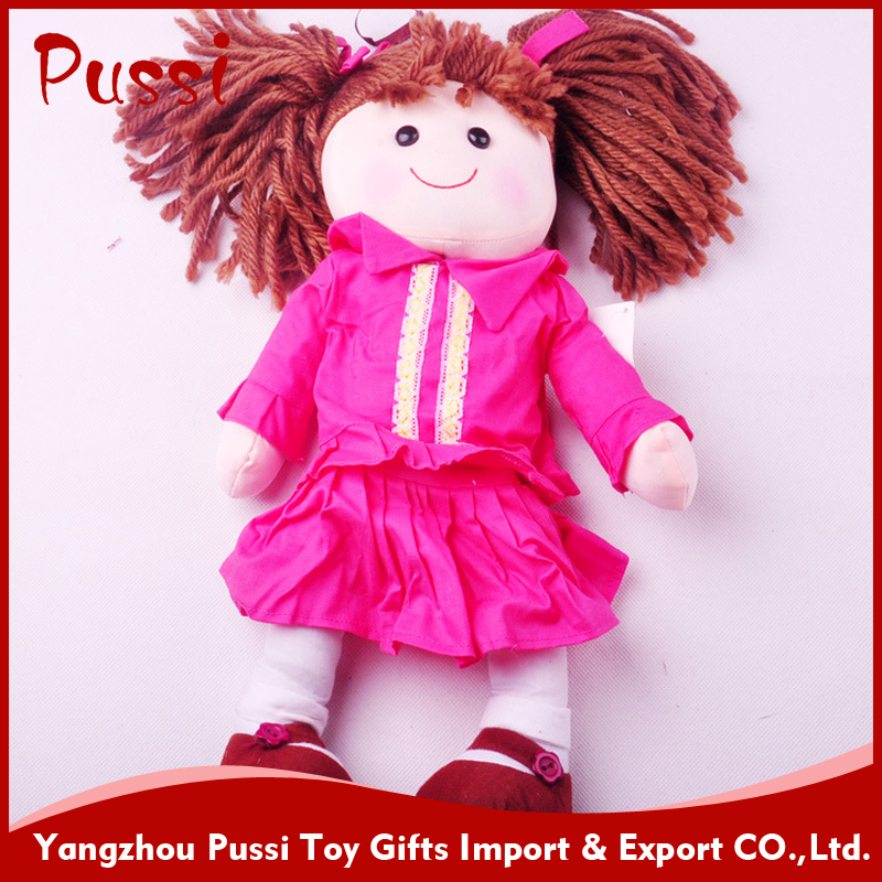China factory making plush toy and doll with sound chip