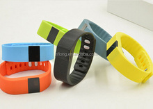 Model TW64 Bluetooth 4.0 smart bracelet 3d pedometer fitness band for health care