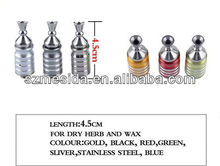 E cigarette 2013 mini stainless steel era atomizer/phoenix v4 for dry herb and wax oil