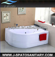 Hangzhou China High Quality 2014 New Product Morden Home Plastic Triangle Bathtub