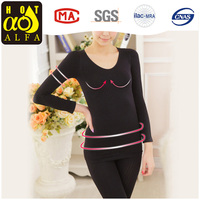 Hot Images Women Sexy Ladies Long Sleeve Inner Thermal Wear K43