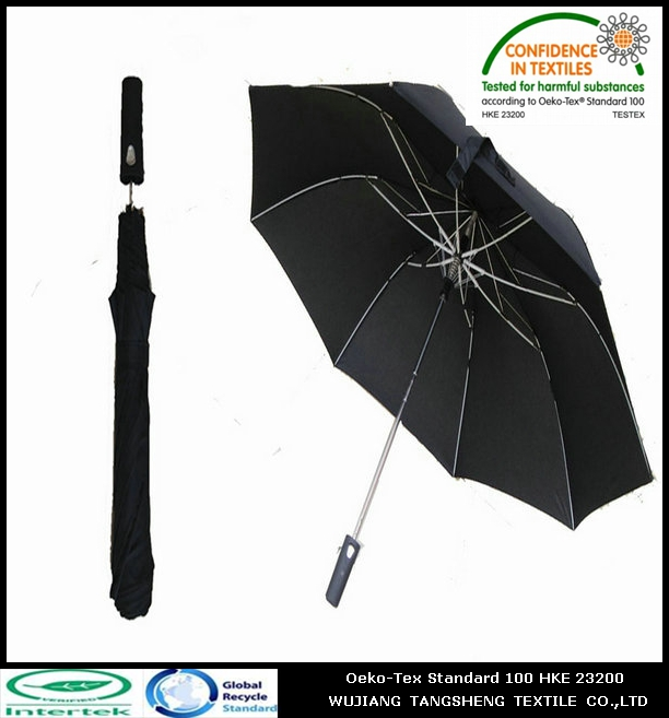100% recycled polyester 190t pongee umbrella fabric