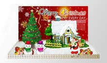 wholesale magic paper growing christmas toy