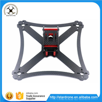"Newest QAV-X5 GTS 5"" 190mm 3K Pure Carbon Fiber Frame DIY FPV Mini Racing Drone"