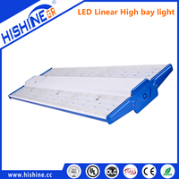 Warehouse 250w Industrial Indoor skyline led Linear Light double asymmetric led trunking system