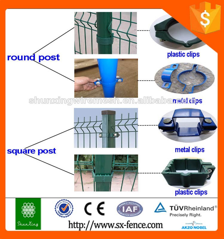 Iso9001 High Quality Metal And Plastic Welded Wire Fence Clips ...