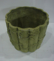 Bamboo Design Flower Pot