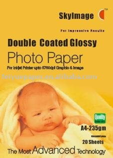 235g Inkjet Double Side Glossy Photo Paper